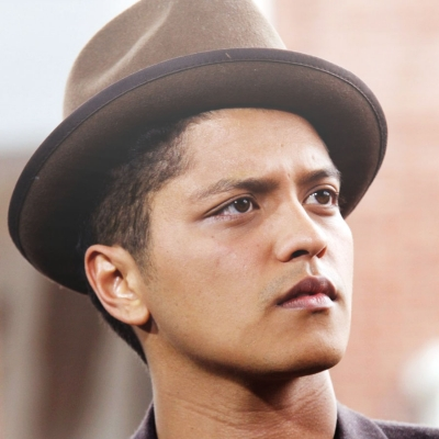Bruno Mars speaks